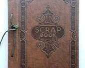Antique Scrapbook Album