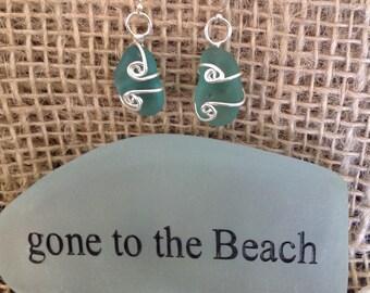 Trade Winds Seaglass Earrings