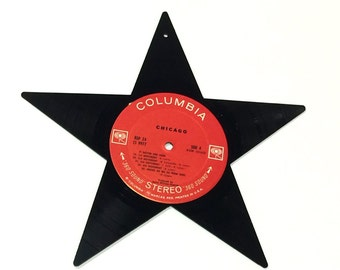 Vinyl Record Art: Star
