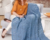 Renaissance Beauty Light and Lacy Afghan Throw