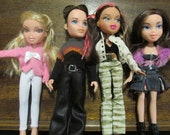 Sale!!!! Bratz Dolls x 4. All fully dressed and with shoes. Great for B-day, Christmas or ? Gift