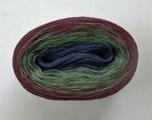 MILTON II  Color Changing Cotton yarn  480 yards/100 gr  Fingering Weight
