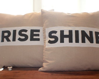 Rise and Shine Pillow Set