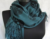 Cotton  scarf,Skull pattern