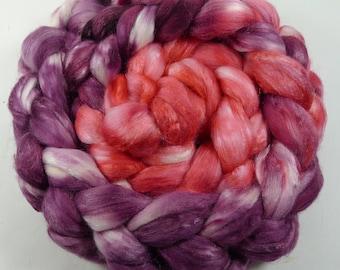 70/30 Merino Silk Roving 4oz OOK #17