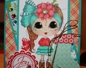 Handmade, Handcrafted  Card