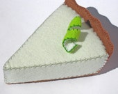 Natural Merino Wool Felt - Key Lime Pie - Made with 100% Merino Wool Felt