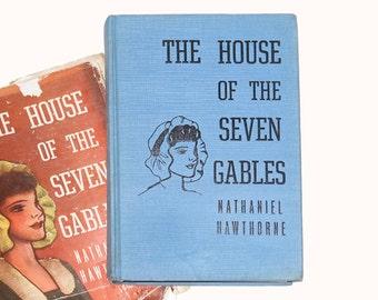 1937 House of the Seven Gables, Nathaniel Hawthorne Books, Classic Books, Vintage Novels, House of the Seven Gables from NewYorkBookseller
