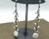 Pearl Waterfall Earrings