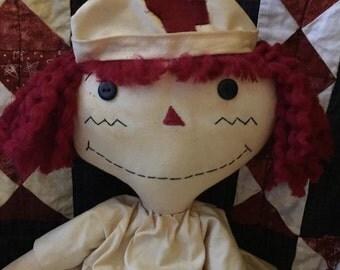 Raggedy Annie Nurse doll