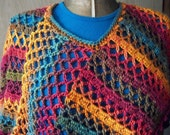 Poncho, Women and Teens, Fall Colors by AngelAndFairyDesigns on Etsy.com