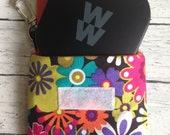 Weight Watchers SmartPoints Calculator small pouch ~ Custom Made ~  Pouch Purse Holder w/Swivel Hook ~ Velcro or Magnetic Snap ~ 45+ Fabrics