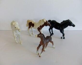 Vintage Horse Playskool Play School Rubber Horse