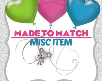 Made to Match any MHD design PDF file / miscellaneous item