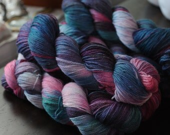 Hand Dyed Core Sock Yarn - Marriage Counseling