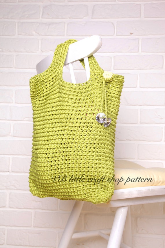 Crochet Easter Bag Pattern : Every day bag crochet pattern. Amazing Easy Practical