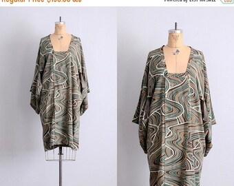 45% OFF SALE.... vintage michiyuki kimono • silk crepe kimono • rainbow marble print kimono • pucci esque print