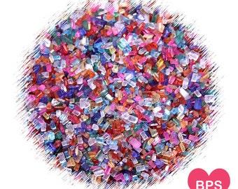 Multi Colored Sparkling Sugar, Rainbow Sprinkles, Rainbow Sparkling Sugar, Cupcake Sprinkles, Cookie Sprinkles, Christmas Cookie Sprinkles