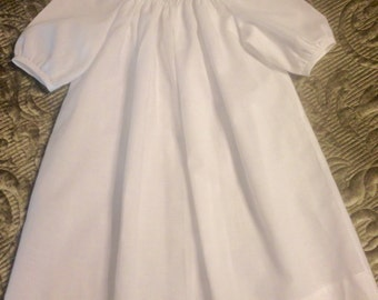 Ready to Smock Daygown made to order Size Newborn in 4 colors