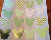 30 pc Mickey Mouse Paper Stickers