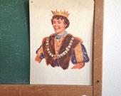 Vintage School Flashcard- Prince