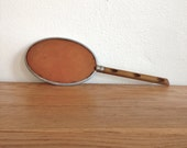 Vintage Faux Bamboo Hand Mirror