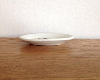 Ironstone Oval Ironstone Platter or Soap Dish