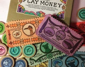 SALE - Cloth Play Money featuring Regional Fauna of the United States