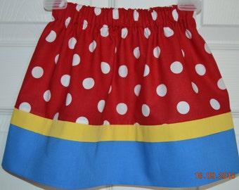 Snow White Inspired Skirt