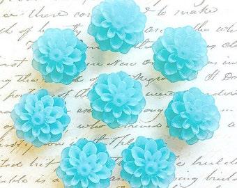 Push Pins - Decorative Push Pins - Office Supplies - Office Accessories - Flower Push Pins - Office Decor - Cute Push Pins - Pushpins - Blue