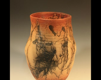 Tall Horsehair Vase - Free Shipping