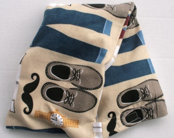 Hot/Cold Rice Bag - Father/Daddy's Clothes in Flannel