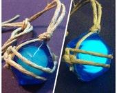 Glow in the Dark Zelda Wind Waker Pirate Stone Necklace