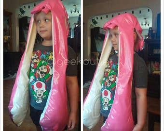 Wet Paint Inkling Squid Kid Character Cosplay Hat, Made to Order