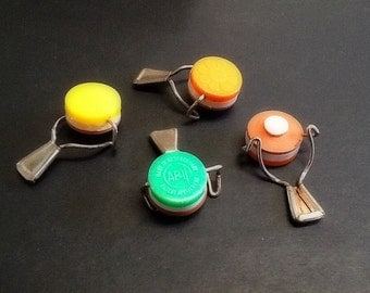 Vintage Glass Bottle Pop Tops Sealers West Germany And Hong Kong 1950's 1960's