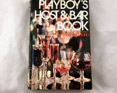 1971 Playboy's Host & Bar Book. '70s Playboy. Bar Book. Retro Cocktails. Drink Recipes, Party Book. Playboy Press Books, Vintage Bar Book