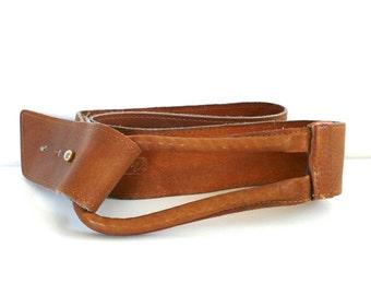 Vintage Nan Lewis Leather Loop Belt