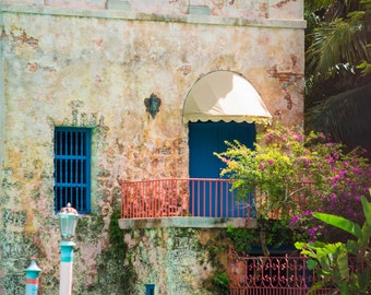 Miami Venetian Pool, Coral Gables, Miami, Wall Art Decor, Art Photography, Shabby Chic, Fine Art Photograph, Vintage Architecture, Art Deco