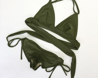 Structured bikini
