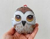 Owl Ornament, Woodland Animal Ornament, Christmas Tree Ornament, home decor