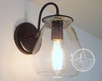 Verona. Wall SCONCE Light with Edison Bulb