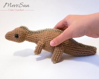 MADE to ORDER - Amigurumi Maiasaurus Dinosaur - amigurumi dinosaur plush, crochet dinosaur toy, prehistoric softie, dinosaur toy