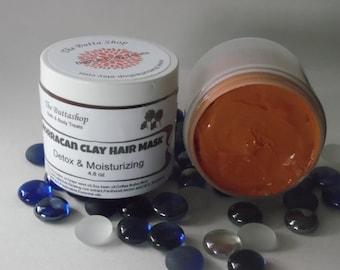 Morracan clay Hair Mask