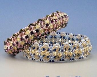 Primavera bangle , peyote kit and pattern