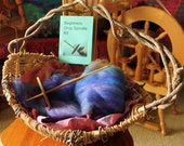 Beginner Drop Spindle Kit, Learn to Spin