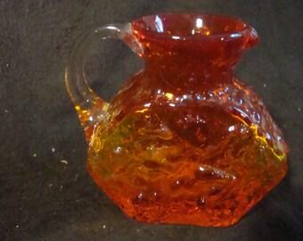 Vintage Kanawha glass pitcher or jug