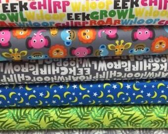 Jungle Babies Fabric Bundle by Jackie Shapiro Windham