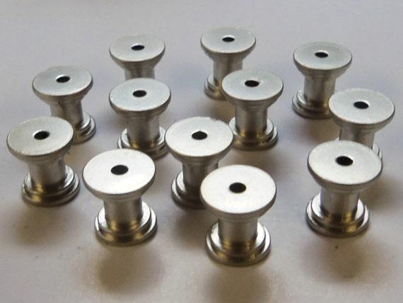 12 Diy Knob Bases Satin Nickel Make Your Own Drawer Pulls