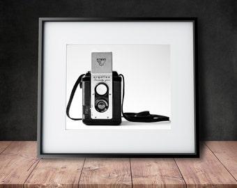 The Argoflex - Vintage Camera Photograph - Black & White