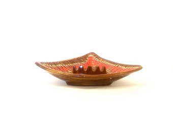 Vintage Triangular Ashtray
